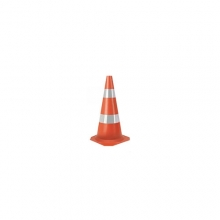 Cone Borracha Refletivo 75 cm