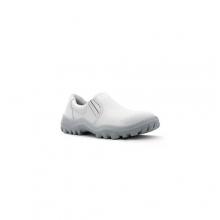 Sapato Safetline Elástico Branco