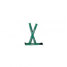 Colete Refletivo Modelo X Verde