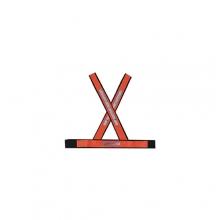 Colete Refletivo Modelo X Vermelho