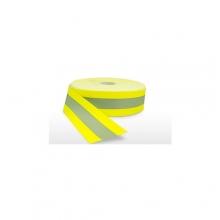 Fita Tecido Refletivo para Uniformes Amarela