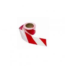 Fita Zebrada Demarcação de Área -Vermelha e Branca