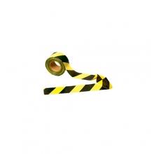 Fita Zebrada Demarcação de Área -Preta e Amarela
