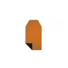Avental KP Preto / Laranja